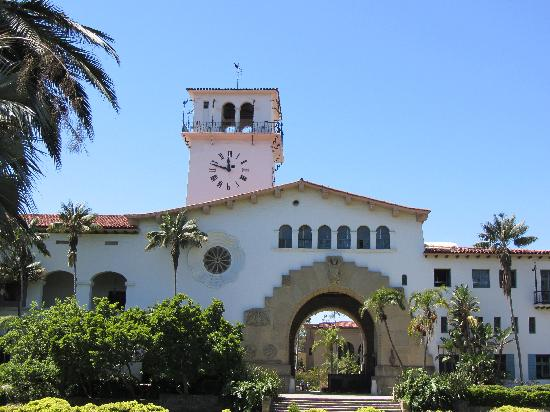 Historic Santa Barbara Superior Courthouse