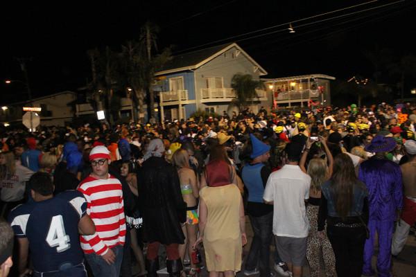 Halloween in Isla Vista