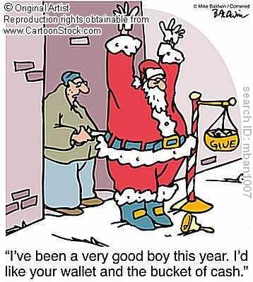 Santa Stick Up