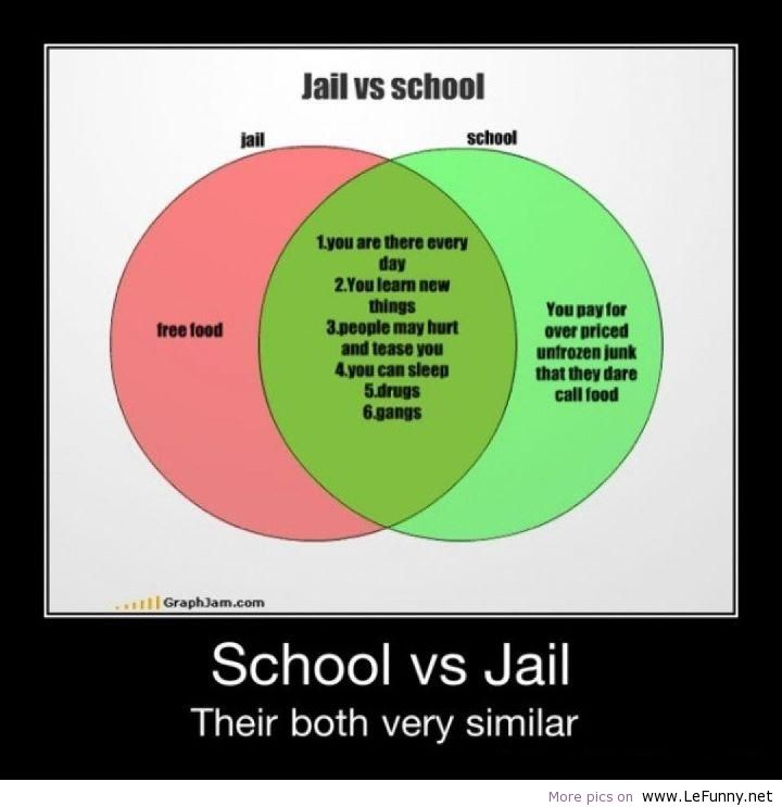 Jail-Vs-School